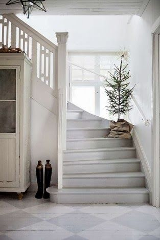 Top Ten Nordic / Scandinavian Christmas Hallway Ideas