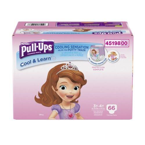 Huggies Pull Ups Cool Learn Training Pants For Girls Giga Pack