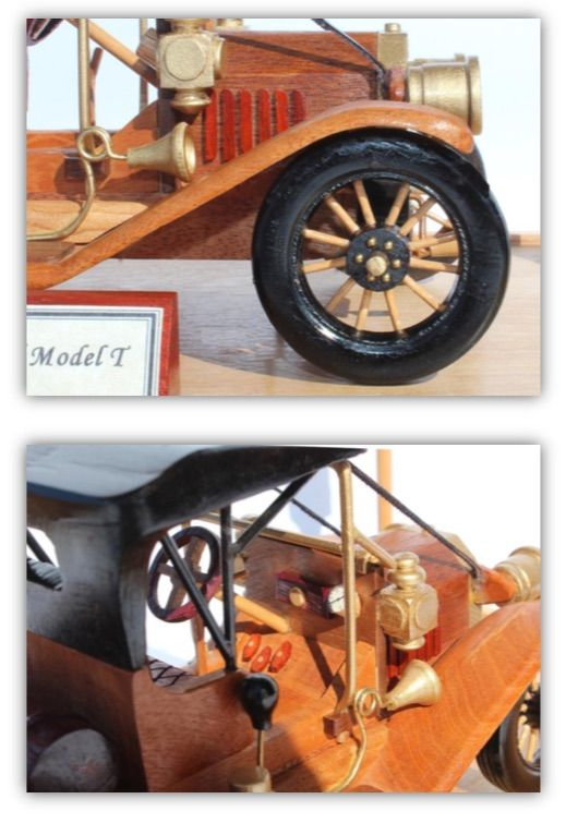 1910 Ford Model T Woodworking Pattern Model T Woodworking