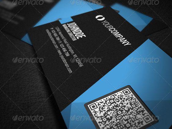 model business card qr code - Pesquisa Google