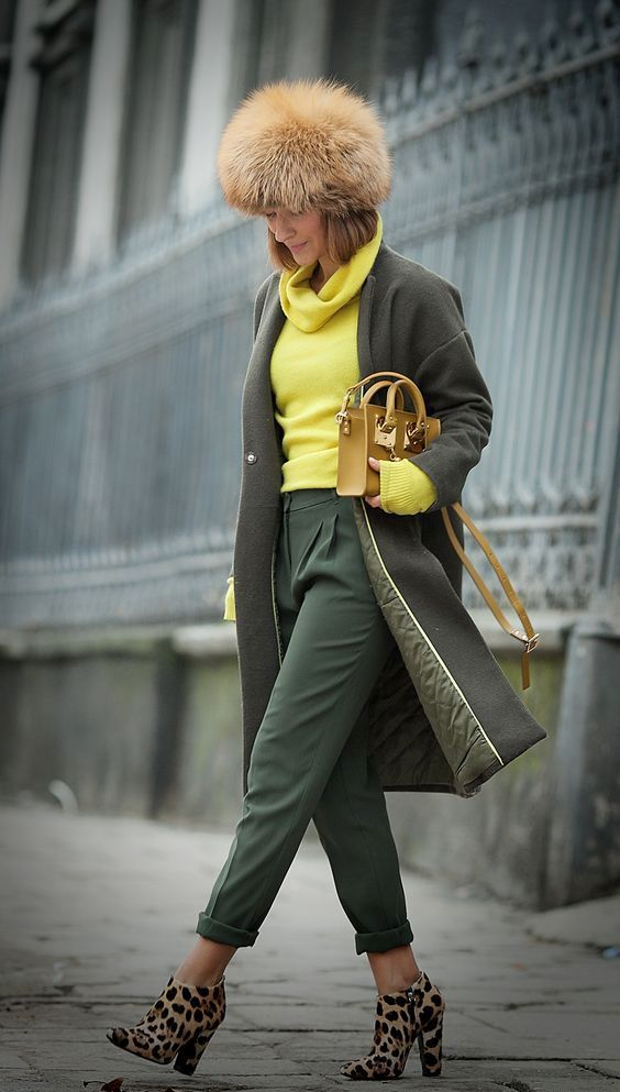 Great Colorful Fall  Outfits