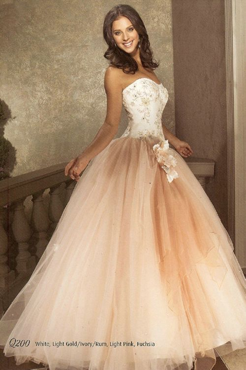 Flower Ruched Sweetheart Strapless Long Applique White Pretty ...