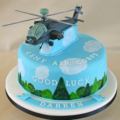 Great helicopter cake