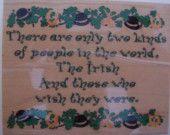 Irish, Irish, Irish