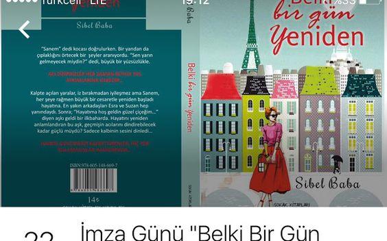 22 Mayıs Pazar saat 14:00    #İmzaGünü #MühürdarKitabevi #Kadıköy #İstanbul  Herkesi bekliyorum    Sevgiler ❤️❤️❤️  #BelkiBirGünYeniden   #roman #romantizm #kitapoku #kitapaşkı #kitapkurdu #kitap #kitapokuyorum #kitapkokusu #kitaplar #kitap #kitapsevgisi #edebiyat #book #books #instamood #instalike #romance #chicklit #love #lovestory #withlove #happiness #newarrivals #lovebooks #lovereading #bestoftheday #picoftheday #pictureoftheday #bestpic