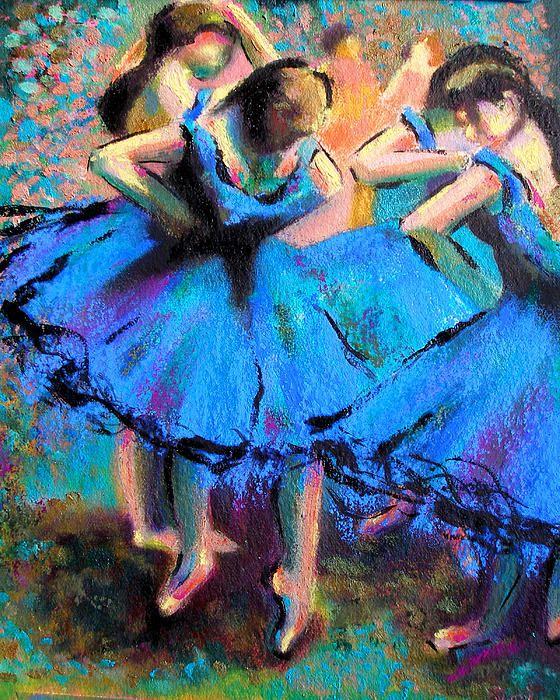 Original post Linda Mamone: My own homage to Master Degas