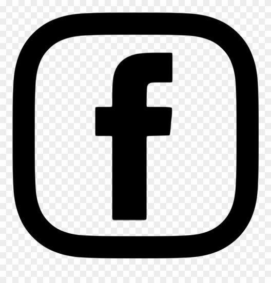 10 Fb Icon White Png Desain Pamflet Desain Tipografi Desain Banner