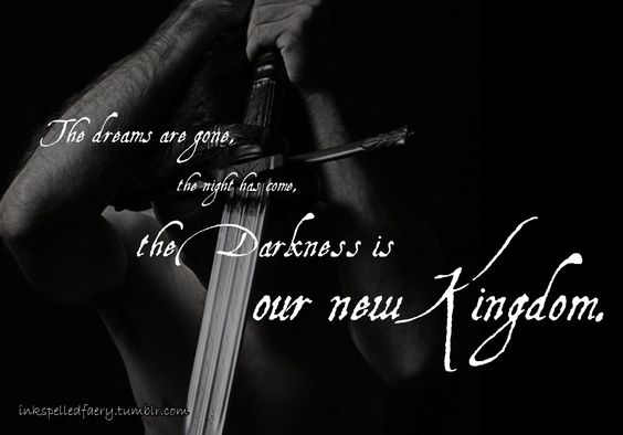 darkness is our kingdom