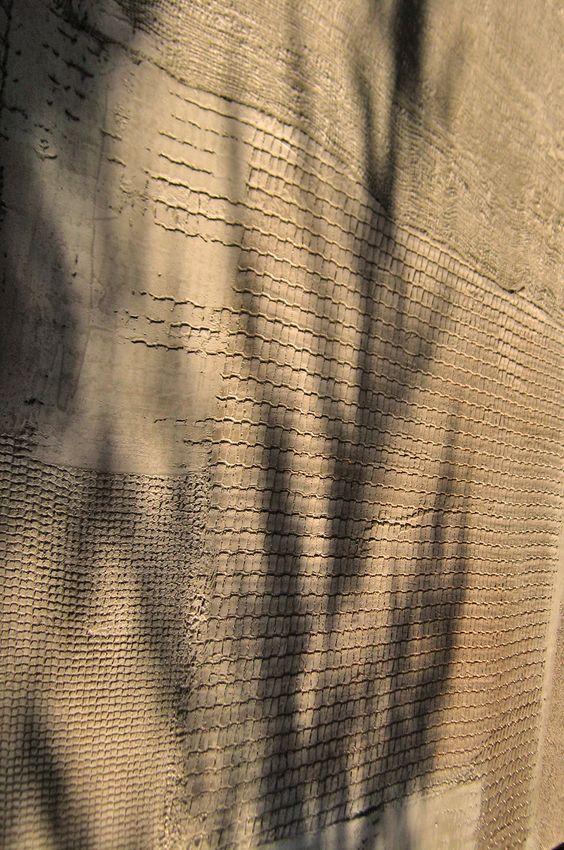 #pareti effetti reti con l micro cemento