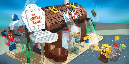 Spongebob lego! :D