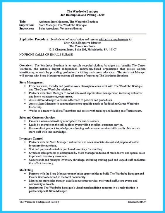 Acting resume sample presents your skills and strengths in details - visual merchandising resume