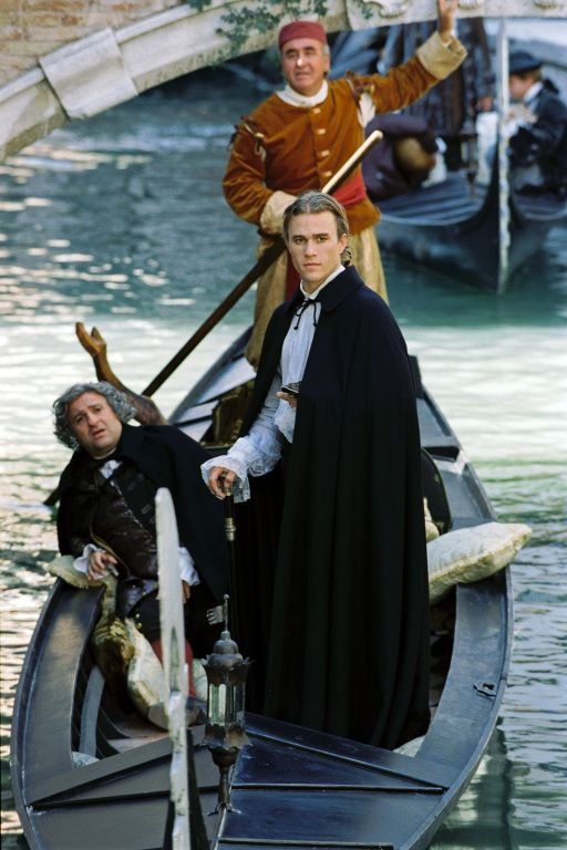 Lupo Salvatore and Giacomo Casanova - Omid Djalili and Heath Ledger in Casanova, set in 1753 (2005).