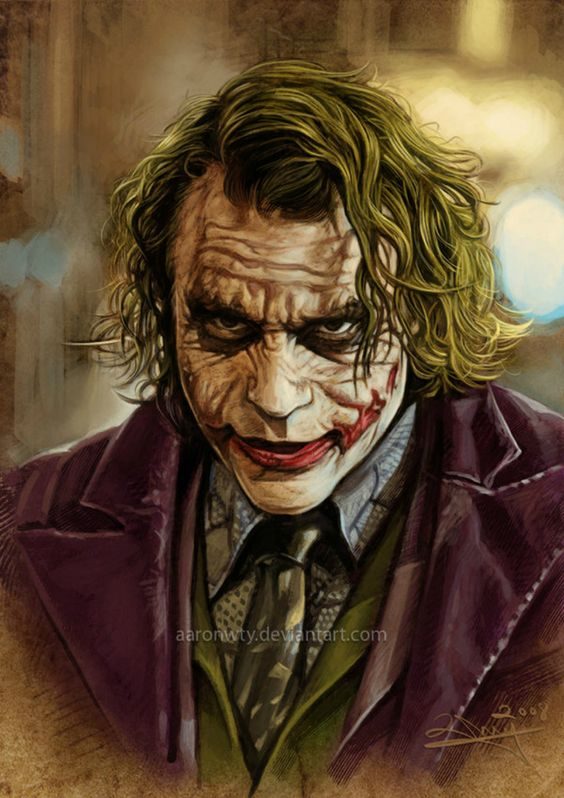 Heath Ledger/The Joker: