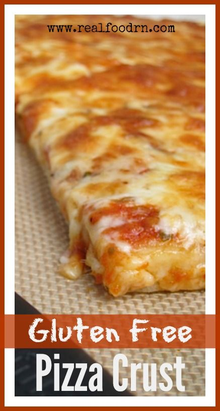 Gluten Free Pizza Crust. You can still enjoy all the ease and deliciousness of real pizza crust, just without the gluten. Tastes great and can be either thick crust or crispy! #livingnowfoods #ad realfoodrn.com