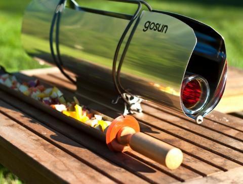 El Horno Solar Portátil Que Asa La Comida Sin Fuego O Electricidad Cocina Solar Macetas Con Botellas Como Hacer Un Horno