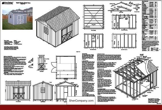 Free 20 X 24 Shed Plans And Pics Of Basic 8x10 Shed Plans 04344297 Projectdiy Deckplans Shed Plans Shed Building Plans 10x12 Shed Plans