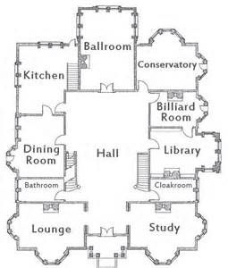 Sensational Floor Plans For The House In The Movie Clue Bing Images Largest Home Design Picture Inspirations Pitcheantrous