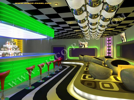upstairs bar at cameo nightclub designed by callin fortis ...