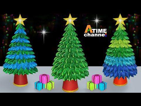 Christmas Tree Making At Home Beautiful Christmas Tree Ideas Diy Xmas Tree Tutorial In 2020 How To Make Christmas Tree Diy Christmas Tree Beautiful Christmas Trees
