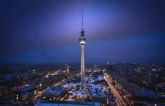 Berliner Fernsehturm - Jan 2016