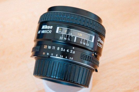 Nikon Af Nikkor 24mm F 2 8d Lens Review 1 Of 6 Nikon Best Wide Angle Lens Nikon Film Camera