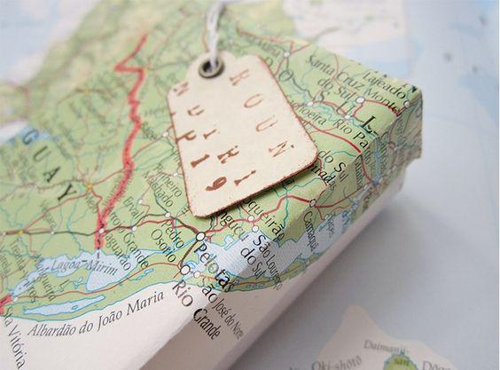 Map wrap