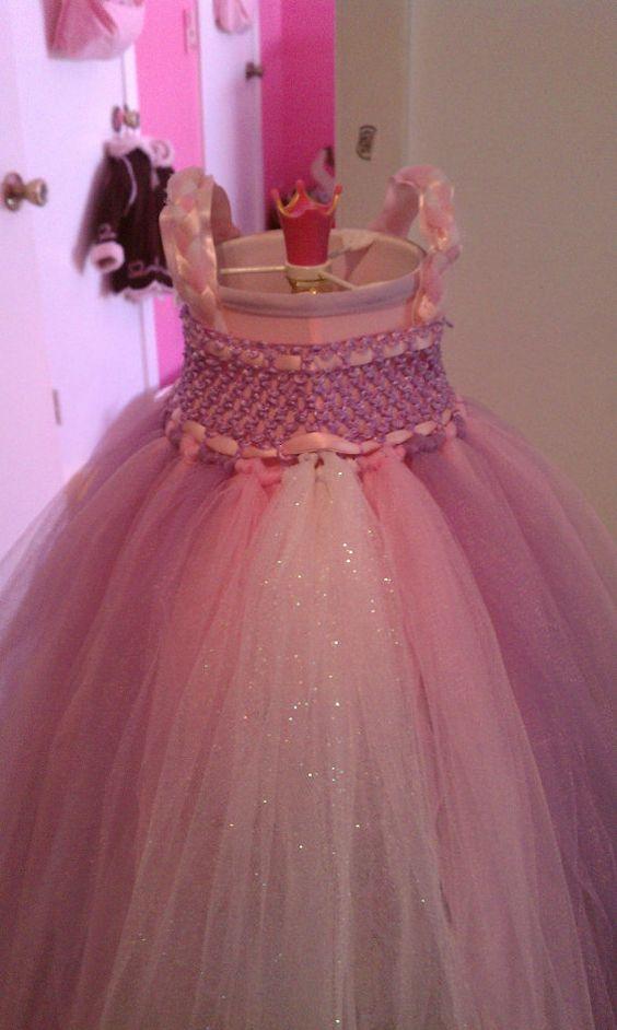 Tangled Rapunzel Inspired Toddler Costume Dress by NerdyLoot, $40.00
