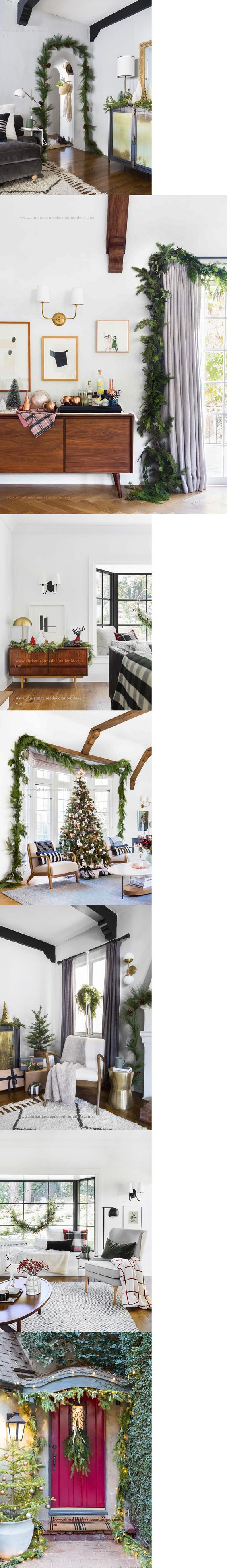 Christmas Tree Garland Ideas 2019