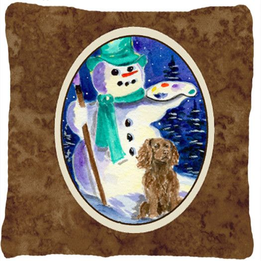 Boykin Spaniel Decorative Canvas Fabric Pillow