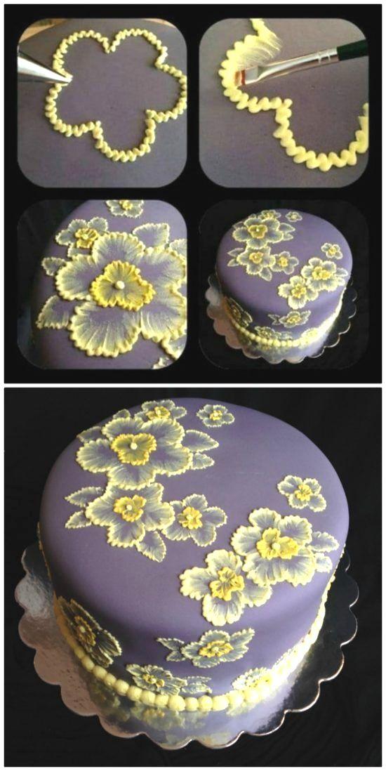 Basic Cake Baking Classes Creative Cake Decorating Flower Cake Cake Decorating Techniques