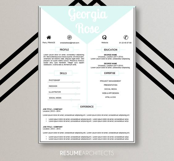 8 best Resume Template \/ CV Template images on Pinterest Cv - resume template download mac