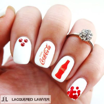Lacquered Lawyer | Nail Art Blog: Coca-Cola: