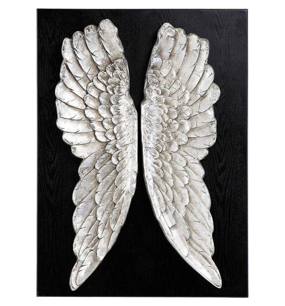 Decorazione da Parete Wings 110x80 cm Kare Design