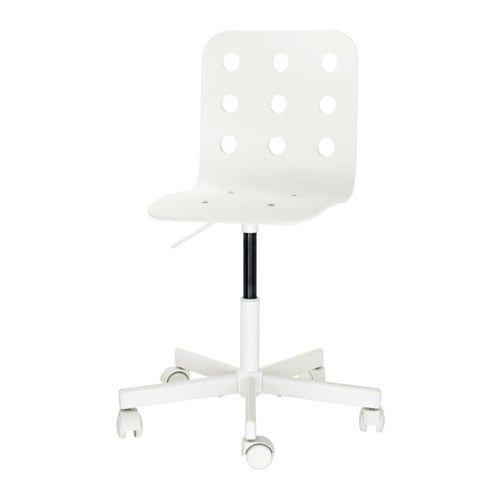 chaise de bureau ikea blanc