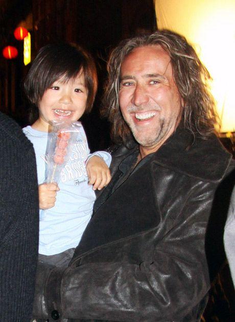 Parents: Nicolas Cage and Alice Kim Cage Son: Kal -El Cage ...