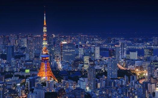 Tokyo Tower Japan 4k Hintergrundbilder Hd Hintergrunde Tokyo Tower Tokyo City 4k Pictures