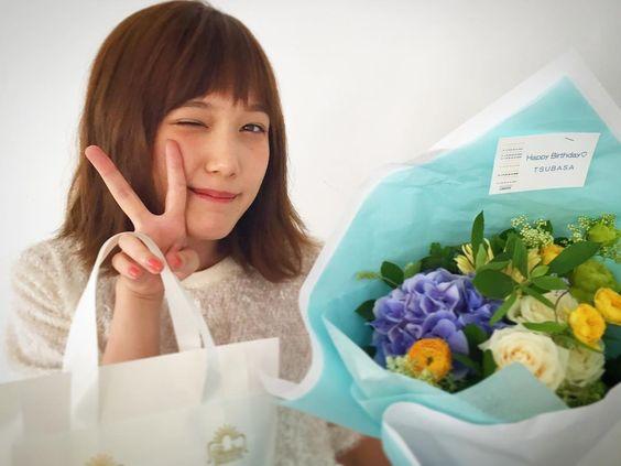 花をもらった本田翼