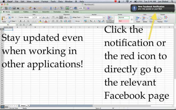 Monitor for Facebook Mac