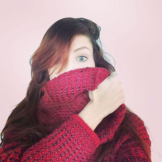 ❄️FRIO❄️ enfim ele chegou, que emoçãaao. tricot nele. ☃