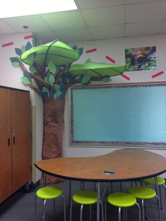 Teacher Classroom Decor Australia ~ Jungle theme birthday calendar and classroom on pinterest