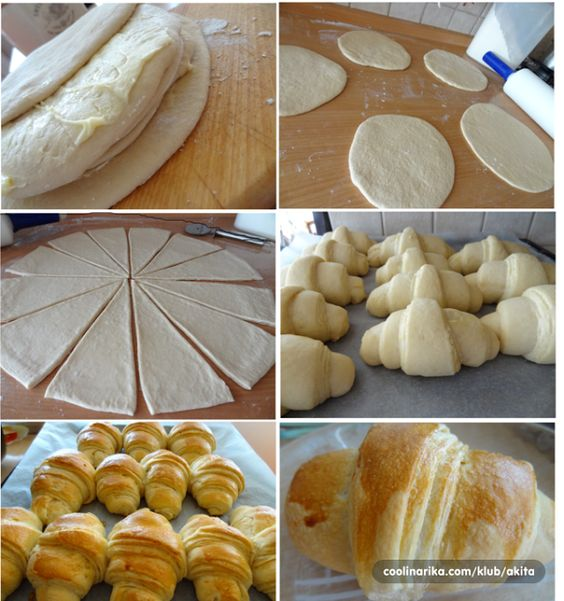 BEST croissants (ROLLS) If like me you have no idea how to be able to create beautiful cakes that will elicit praise and smiles tasters, then we strongly recommend you to try this recipe. ~ Recipes and Ideas
