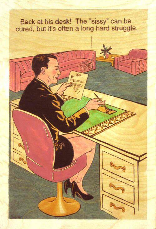 Robert Sherer- Back at His Desk!