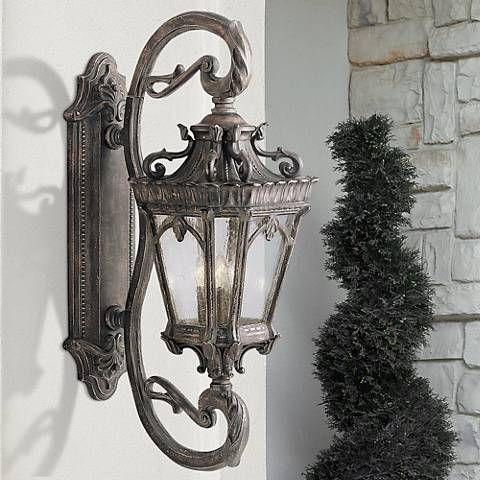 Kichler Tournai Collection 38 High Large Outdoor Wall Light