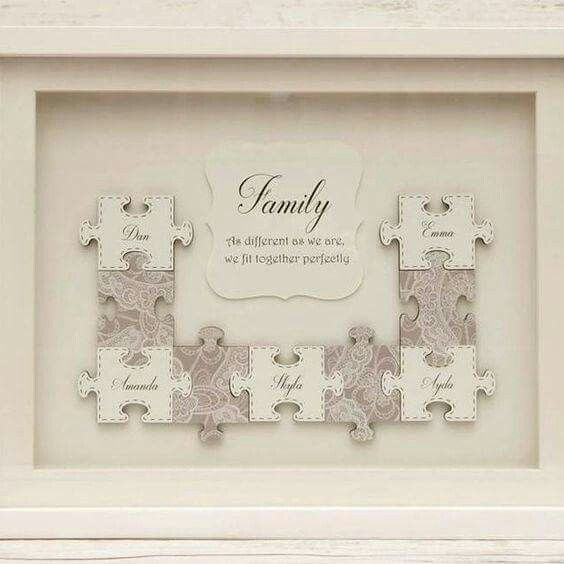 Pin By Wreath Decor By Dawn On Things I Love Frame Crafts Puzzle Crafts Puzzle Frame