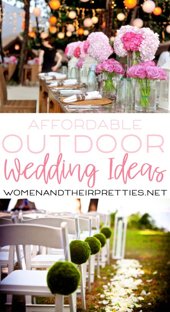 Affordable Outdoor Wedding Ideas From Oriental Trading Via Joyceduboise Oriental Trading Wedding Outdoor Wedding Wedding Planning