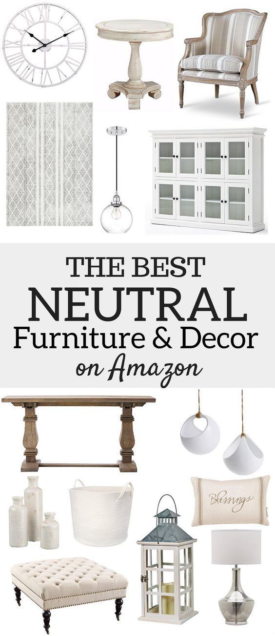 Unique Neutral Home Decor