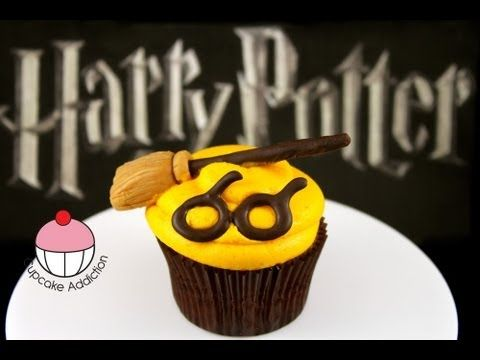 Harry Potter Cupcakes Make Simple Harry Potter Cupcakes Learn