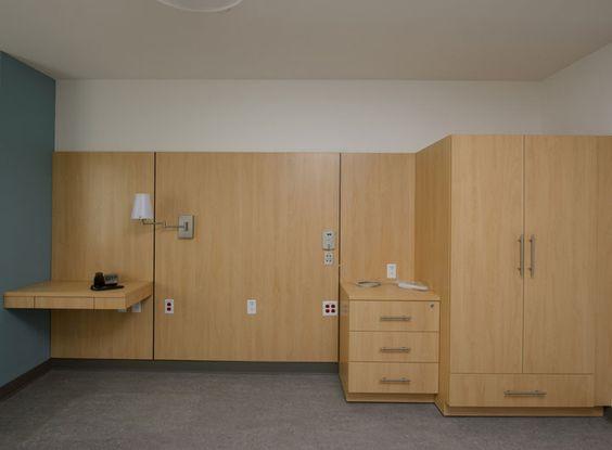 Gouveneur Hospital Patient Room  Hamilton Sorter Modular Casework