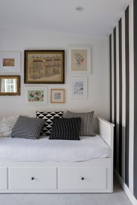 ikea hemnes kid s room pinterest grey offices and grey sheets. Black Bedroom Furniture Sets. Home Design Ideas