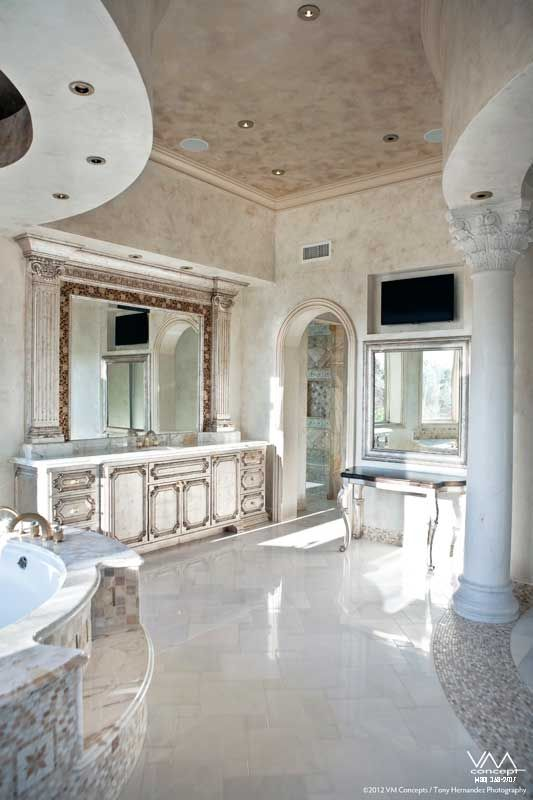 Custom Vanity Wall Finishes And Paradise Valley On Pinterest